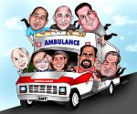 ambulance-full-of-doctors-comedic-work-cartoon