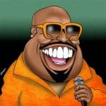 cee-lo is a famous orange dude