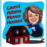 laurel adams moves houses