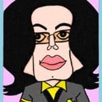 michael jackson cartoon