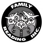 three owls reading a book logo design