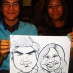 live caricatures in los angeles
