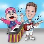 musical act digital sketch OC
